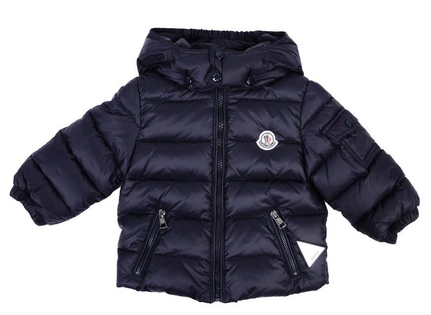 Moncler ENFANT Down Jacket пуховая куртка  3 мес / 3 лет Синяя