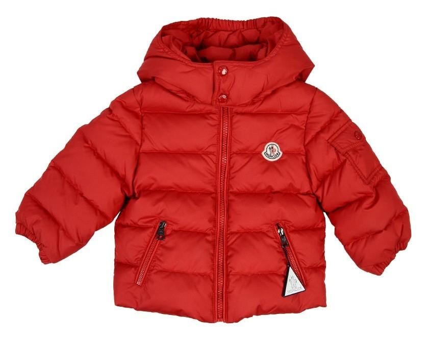 Moncler ENFANT Down Jacket пуховая куртка  3 мес / 3 лет Красный
