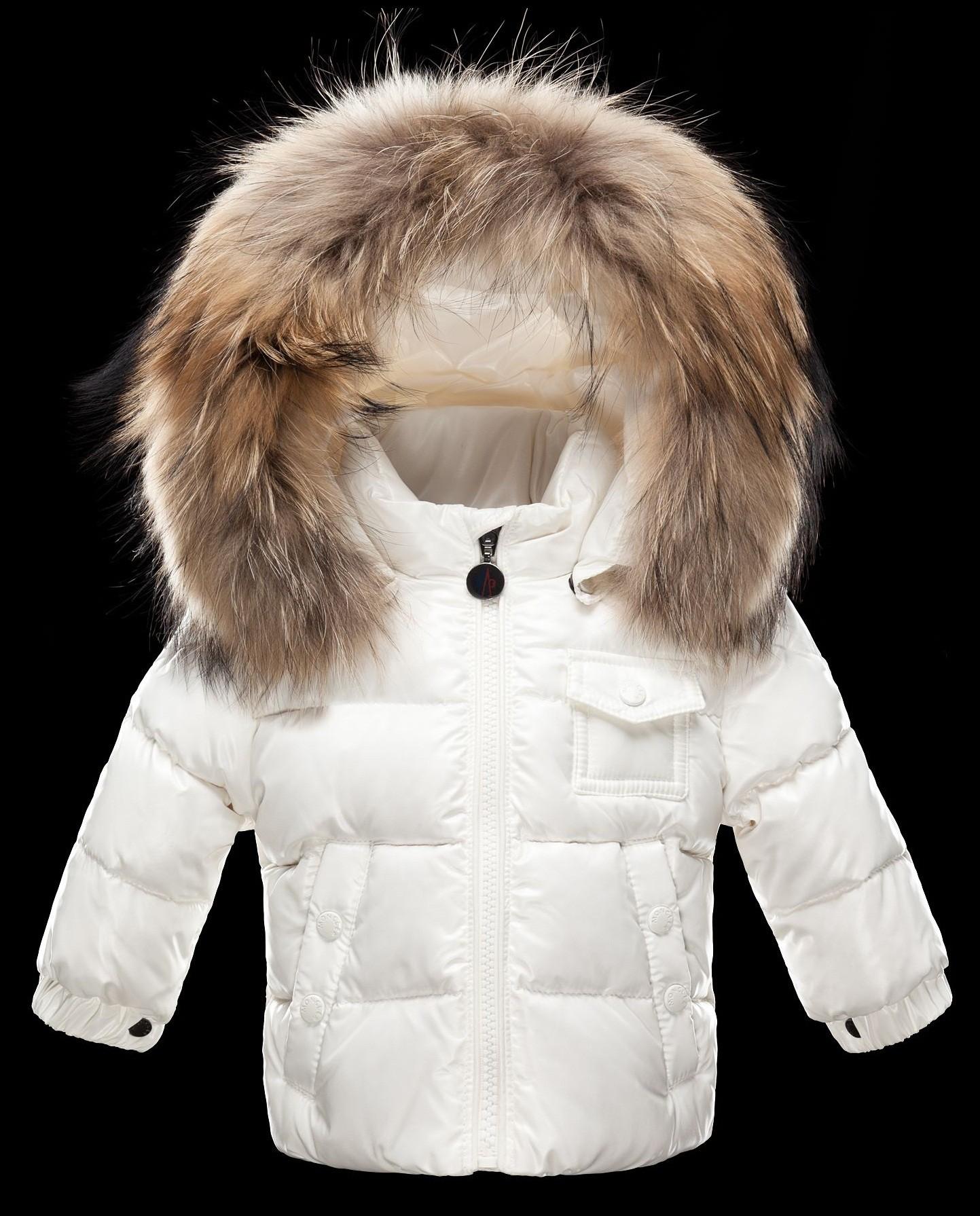 Moncler  ENFANT K2 Baby Down Jacket пуховая куртка с капюшоном 3/36 месяцев Белый