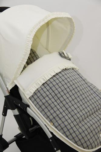 Экслюзивный набор  для коляски Bugaboo+ ( кап+конверт-чехол)