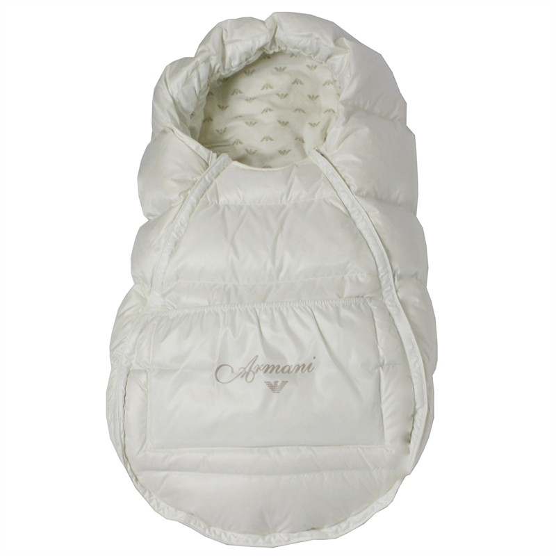 Armani Baby  пуховой конверт Белый