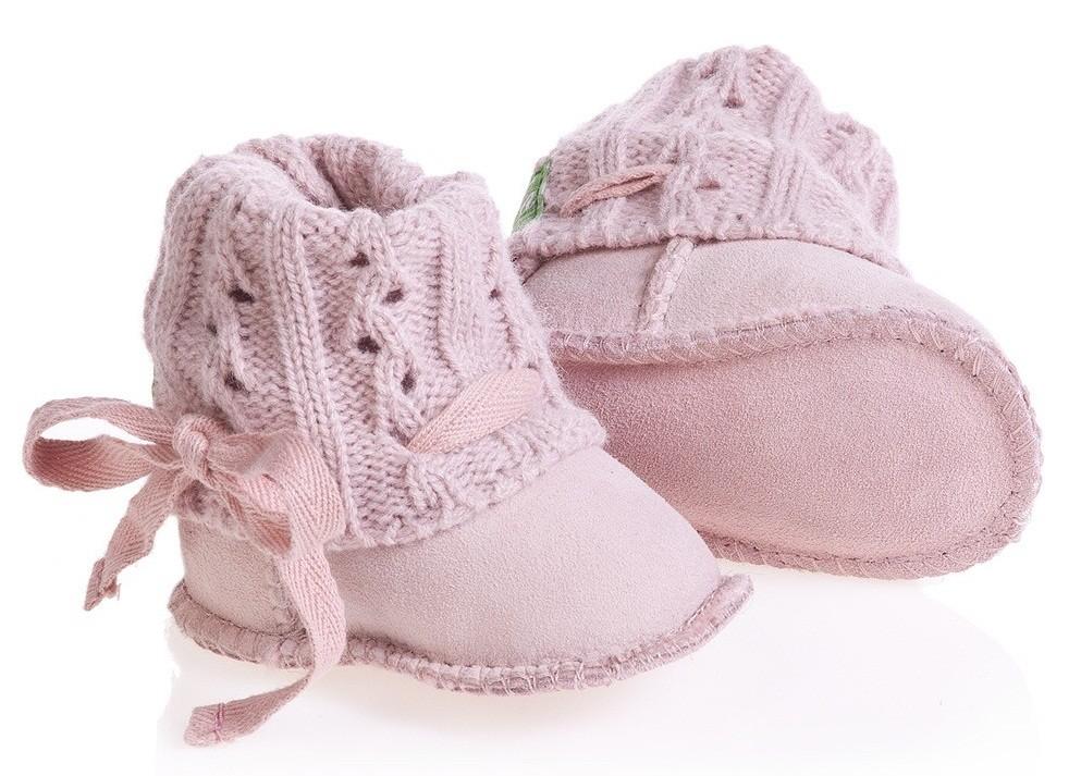 LFA мутоновые сапожки для младенца 3/18 месяцев Розовый