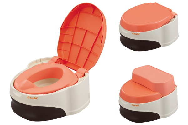 Детский горшок Combi Baby Label Training Toilet De Step