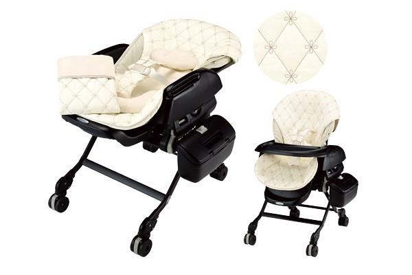 Колыбелька-стульчик автоматическая Combi White Label Fialetto Auto Swing Gracia