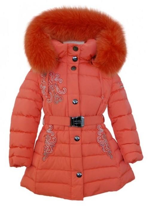 MANUDIECI пуховое пальто на девочку. Размеры 4г.
